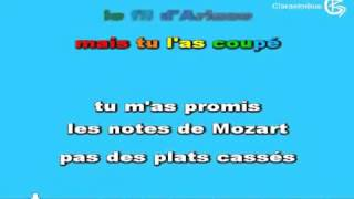Canción  Tu Es Foutu  De In Grid Lyrics Sous Titres Paroles    On Screen