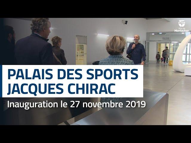 Inauguration du Palais des Sports Jacques Chirac