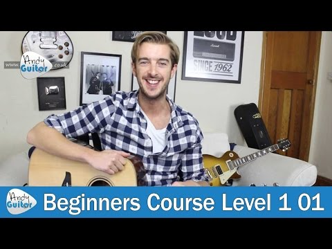 FIRST Chord to learn on guitar - E major chord - Beginners Lesson 1