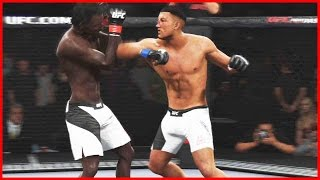 UFC 2 Ultimate Team Gameplay - CREATING A NEW FIGHTER!