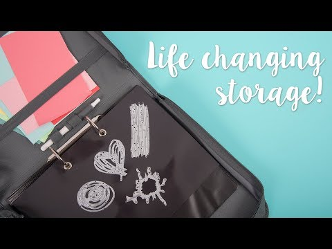 Life Changing Storage - Sizzix Hacks