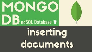 Inserting Documents | MongoDB | Tutorial 5