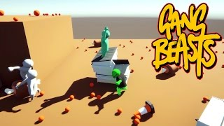 Gang Beasts - Old Fashion Beat Down!!! [Father And Son Gameplay]