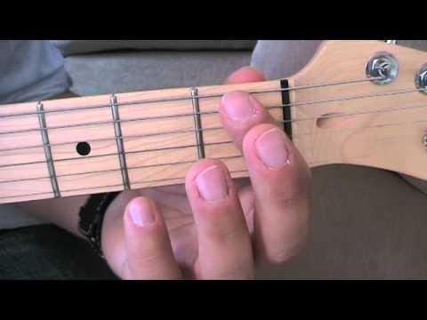 B7 Chord (ST08-01)/ Anfänger Gitarre