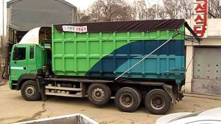 preview picture of video 'armroll truck automatic tarping systems'