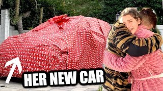 SUPRISING ERYN WITH HER DREAM CAR FOR CHRISTMAS | she had no idea