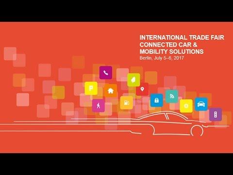 ConCarExpo - Internationale Messe für Connected Car & Mobility Solutions