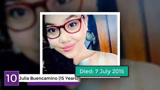 10 Young Filipino Celebrities Who Passed Away Too Early | mTube
