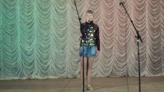 ЮТА -2011 Анастасия Трифонова -первое выступление г.АТКАРСК