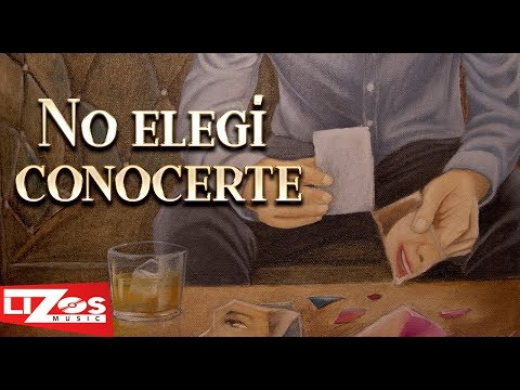 BANDA MS - NO ELEGÍ CONOCERTE (LETRA)