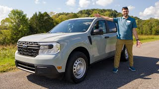 I Drive The Ford Maverick Hybrid - The Least Expensive New Pickup You Can Buy!