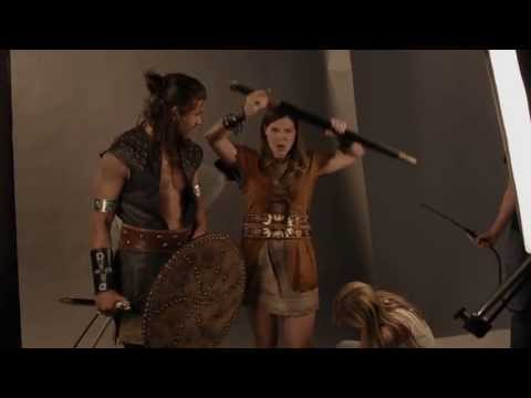 Behind the Scenes at a Harlequin Cover Shoot: To Tempt a Viking (Harlequin TV)