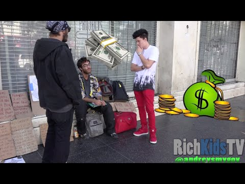 mp4 Rich Man Give Money, download Rich Man Give Money video klip Rich Man Give Money