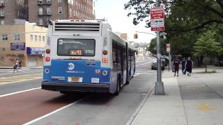 preview picture of video 'MTA New York City Bus: NovaBus LFSA #5783 Bx41 +SBS+ @ Webster Avenue & E. Fordham Road!'