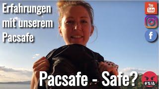 Daypack Pacsafe Vibe 30 - eine Travel Backpack Entäuschung - Weltreise VLOG #33 4K