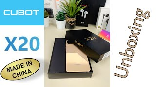 Cubot X20 130 Euro Smartphone Unboxing