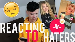 REACTING TO MY HATERS MUSICAL.LYS PT. 4