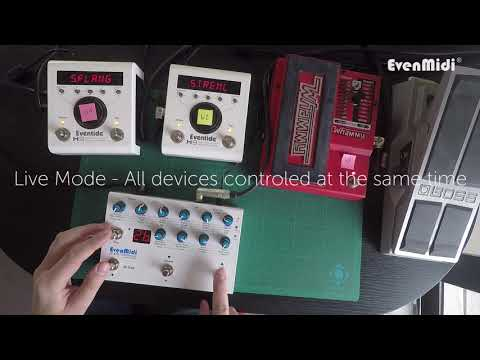 EvenMidi H9 Midi Controller for Eventide H9