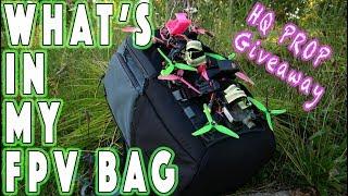 ????What's in My Bag? DJI HD FPV Testing and SWEET GIVEAWAY! ????????