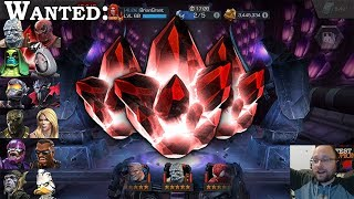 17x 5-Star Crystal Opening | Marvel Contest of Champions