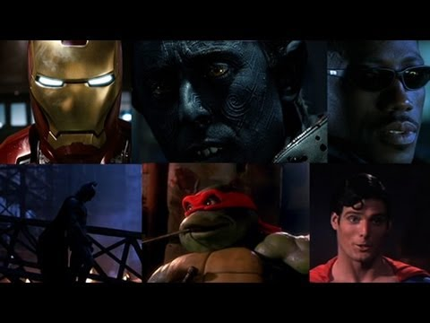 Top 10 Superhero Movies (2012)