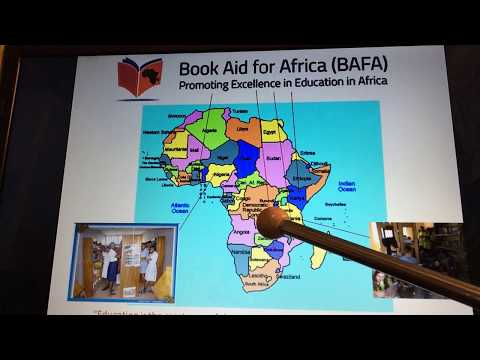 Book Aid for Africa (BAFA) video 5