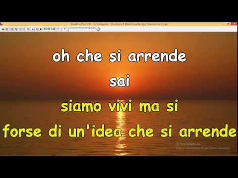 Ci Si Arrende - Zucchero (ft M  Knopfler)lyrics+karaoke by Tituccio Ascoli Satriano (Fg)