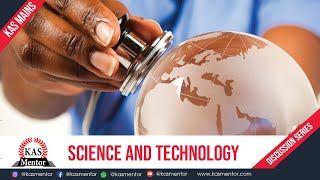 Kas Mains Answer Discussion Series I Science & Technology I National Policy on Science & Technology