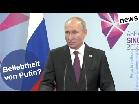 Wie beliebt ist Putin jetzt genau? [Video]