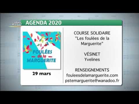 Agenda du lundi 9 mars