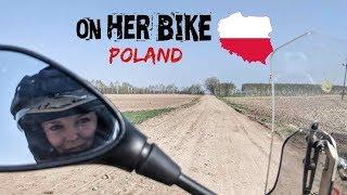 Poland. On Her Bike Around the World. Episode 21