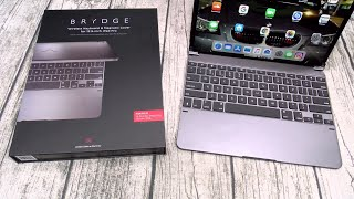 Brydge Pro Wireless Keyboard - Magnetic Cover for iPad Pro