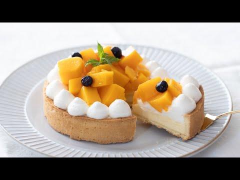 美麗的夏日芒果重乳酪蛋糕的製作方法