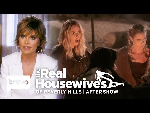 Denise Talks Happy Endings & Teddi Argues With Camille On Camping Trip | RHOBH After Show (S9 Ep13)