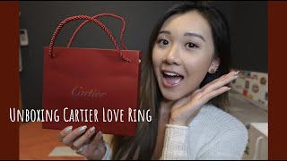 CARTIER LOVE RING | Unboxing + Story