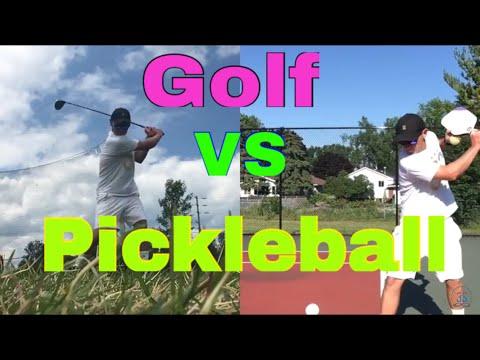 Golf vs. Pickleball