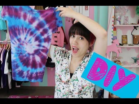 DIY I Batik T-Shirt aus