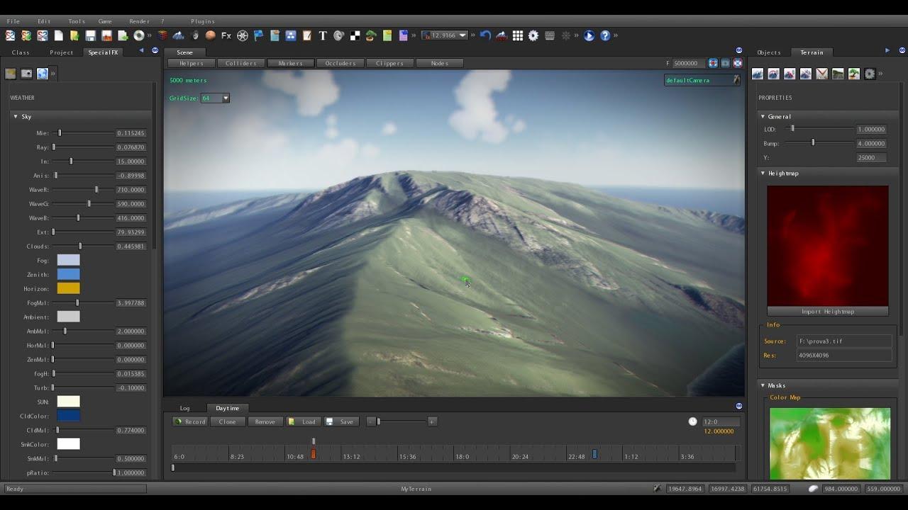 S2ENGINE HD 1.4.6: Terrain Tutorial #1