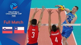 SLOVENIA Vs CHILE   2019 FIVB Men's Volleyball Challenger Cup