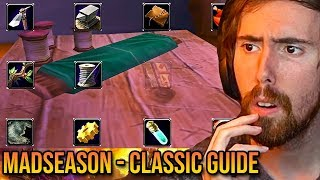 """Asmongold Reacts To """"WoW Classic Launch Guide & Preparation"""" - MadSeasonShow"""