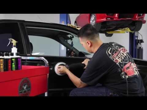 How To Machine Polish A Black Car - Detail Garage - (S1E4)