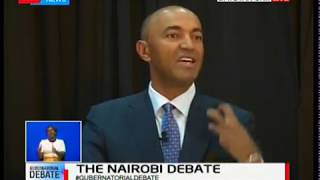 Peter Kenneth details what uniquely places him to be the governor of Nairobi
