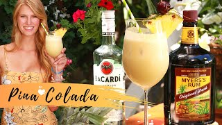 BEST Pina Colada | Frozen Pina Colada Cocktail Recipe | How To Make A Pina Colada Smoothie