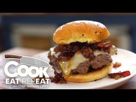 Blackstone - Bacon Jam Smash Burger Recipe