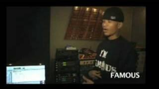 Famous & Chamillionaire in studio