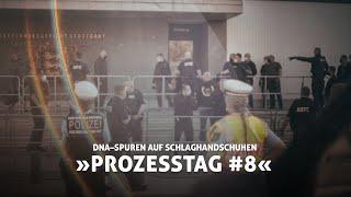 »DNA–Spuren der Opfer auf dem Schlaghandschuh« Prozesstag #08 gegen Linksextremisten #4K