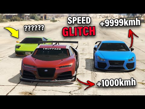 GTA 5 ONLINE - FASTEST CAR SPEED GLITCH (FASTER THAN JETS)