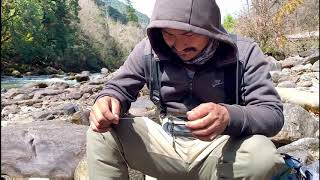 Fly fishing in Bhutan | Catching Trout in Haa | Best Place for Fishing |