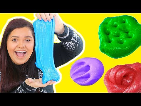 Best DIY Slime Recipes WITHOUT GLUE OR BORAX! How To Make Glue & Borax Free Slime