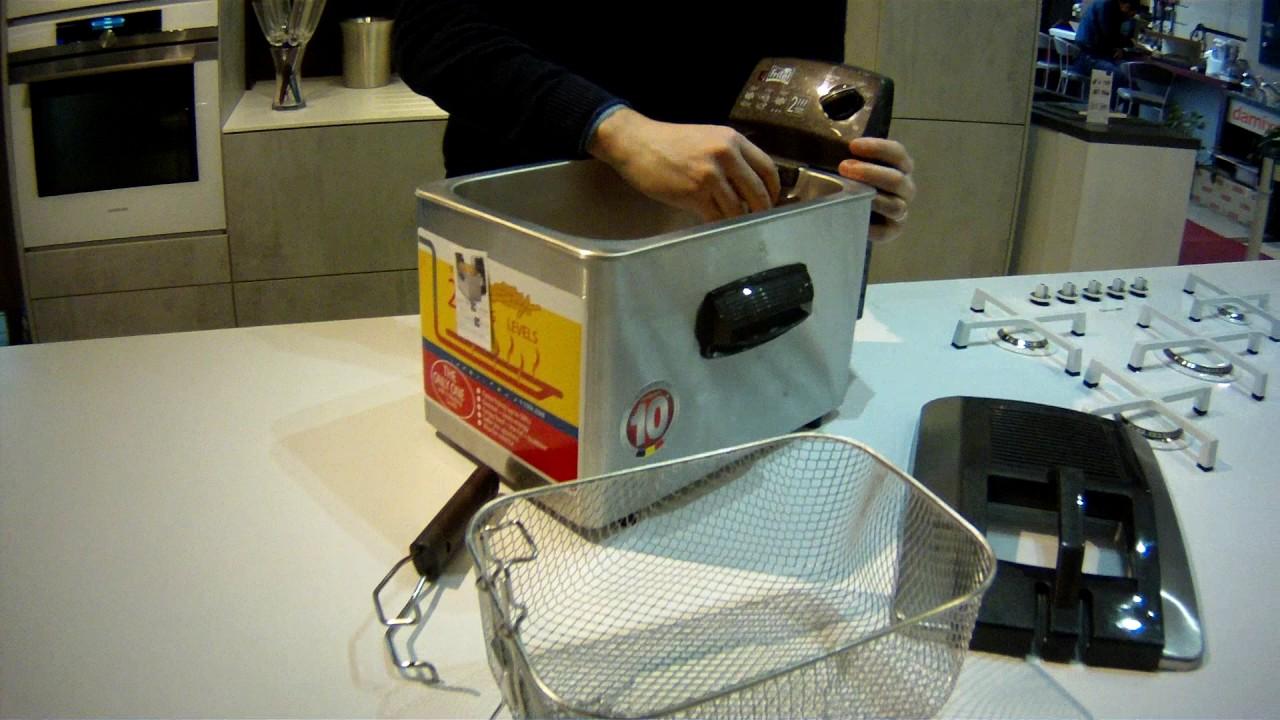 Démontage d'une friteuse Fritel Turbo SF